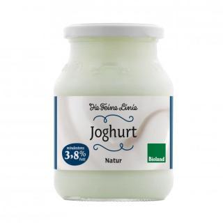 """Bio-Naturjoghurt, mind. 3,8 % Fett """"Die Feine Linie"""""""