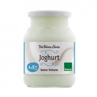 """fettarmer Bio-Naturjoghurt, 1,5 % Fett """"Die Feine Linie"""""""
