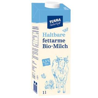 TERRA Fettarme H-Milch, Karton 1,5%  1Ltr