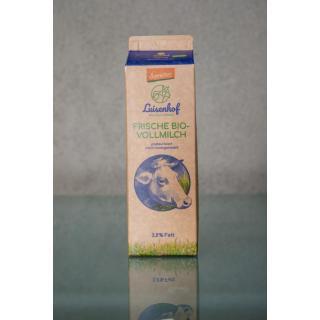 Luisenhof Vollmilch, Karton 3,8%  1Ltr