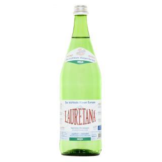 Lauretana Mineralwasser  ''Mild''  1Ltr
