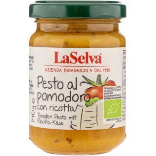 Tomaten Pesto mit Ricotta-Käse