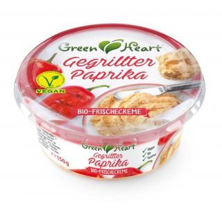 Green Heart Frischecreme gegrillte Paprika 150g