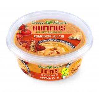 Green Heart Hummus Pomodori Secci, vegan