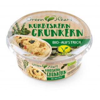 Green Heart Kürbis-Grünkern Aufstrich, vegan